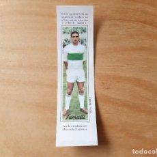 Cromos de Fútbol: CHOCOLATES SAMALLI 1966 - 66 - ELCHE - IBORRA. Lote 187406286