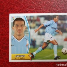 Cromos de Fútbol: CACERES CELTA CROMO 03 04 ED ESTE LIGA 2003 2004 FUTBOL CAMPEONATO - SIN PEGAR 796. Lote 187486201