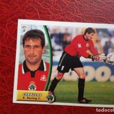 Cromos de Fútbol: CEBALLOS RACING SANTANDER CROMO 03 04 ED ESTE LIGA 2003 2004 FUTBOL CAMPEONATO - SIN PEGAR 798 BAJA. Lote 187486278
