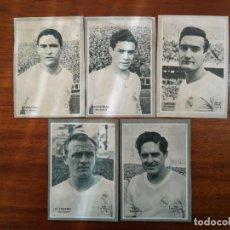 Cromos de Fútbol: REAL MADRID - 5 CROMOS DICEN 1958 - 1959 ( 58 /59 ), HAY LISTADO: DI STEFANO, RIAL , MARSAL... . Lote 187490631