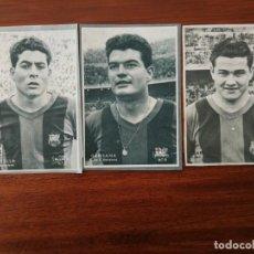 Cromos de Fútbol: OLIVELLA, MARTINEZ Y GENSANA ( F.C. BARCELONA ) - COLECCIÓN DICEN 1958 - 1959. Lote 55357969