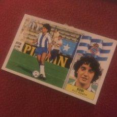 Cromos de Fútbol: ESTE 86 87 1986 1987 DESPEGADO ESPAÑOL COLOCA ROBI. Lote 188596292