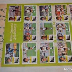 Cromos de Fútbol: HOJA CON 28 CROMOS DEL OSASUNA Y DEL SALAMANCA - LIGA 1982 / 1983 -- 82 / 83 EDIC. ESTE ¡MIRA!. Lote 189203293