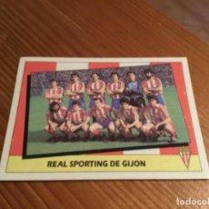 Cromos de Fútbol: CROMO ALINEACIÓN REAL SPORTING DE GIJÓN 87/88. Lote 189235066