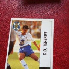 Figurine di Calcio: DEL SOLAR TENERIFE ED PANINI CROMO LIGA 95 96 FUTBOL 1995 1996 - SIN PEGAR - 412 BAJA. Lote 189720668