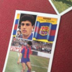 Cromos de Fútbol: ESTE 90 91 1990 1991 DESPEGADO BARCELONA NANDO FICHAJE 34. Lote 189932220
