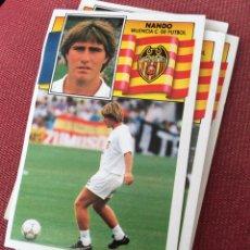 Cromos de Fútbol: ESTE 90 91 1990 1991 DESPEGADO VALENCIA NANDO. Lote 189938237