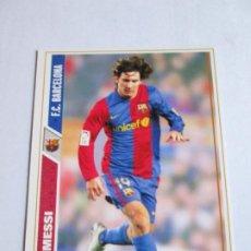 Cromos de Fútbol: #47 MESSI BARCELONA 07 08 MUNDICROMO FICHAS LIGA 2007 2008. Lote 189987286
