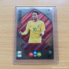Cromos de Fútbol: LIMITED EDITION NEYMAR JR BRASIL / PSG MUNDIAL RUSIA 2018 ADRENALYN XL PANINI WORLD CUP 18 NUEVO. Lote 189988166