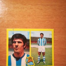 Cartes à collectionner de Football: ERROR. CORTABARRIA-SOROA. R.SOCIEDAD.ESTE 72 73. Lote 190020651