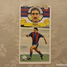 Figurine di Calcio: ROJO BARCELONA ED ESTE 85 86 CROMO FUTBOL LIGA 1985 1986. Lote 190026550