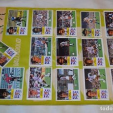 Cromos de Fútbol: HOJA CON 29 CROMOS DEL VALLADOLID Y REAL ZARAGOZA / - LIGA 1982 / 1983 -- 82 / 83 EDIC. ESTE ¡MIRA!. Lote 190116451