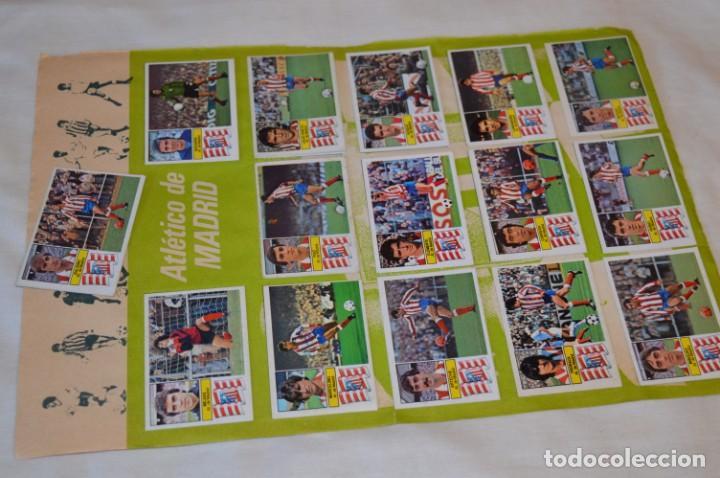 HOJA CON 31 CROMOS DEL LAS PALMAS Y ATLÉTIC MADRID / - LIGA 1982 / 1983 -- 82 / 83 EDIC. ESTE ¡MIRA! (Coleccionismo Deportivo - Álbumes y Cromos de Deportes - Cromos de Fútbol)