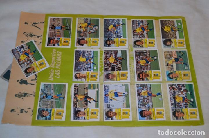 Cromos de Fútbol: Hoja con 31 cromos del LAS PALMAS y ATLÉTIC MADRID / - LIGA 1982 / 1983 -- 82 / 83 Edic. ESTE ¡Mira! - Foto 2 - 190117882