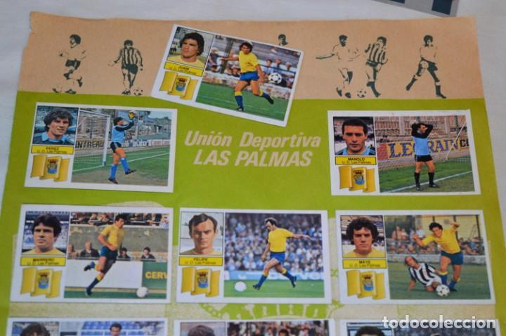 Cromos de Fútbol: Hoja con 31 cromos del LAS PALMAS y ATLÉTIC MADRID / - LIGA 1982 / 1983 -- 82 / 83 Edic. ESTE ¡Mira! - Foto 3 - 190117882