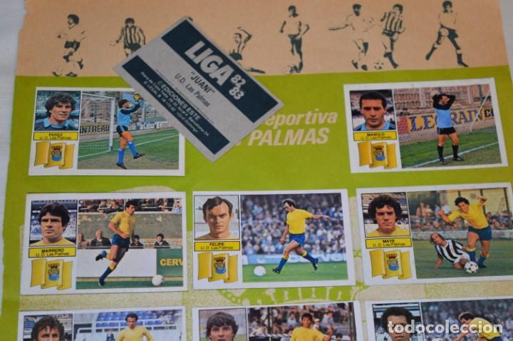Cromos de Fútbol: Hoja con 31 cromos del LAS PALMAS y ATLÉTIC MADRID / - LIGA 1982 / 1983 -- 82 / 83 Edic. ESTE ¡Mira! - Foto 4 - 190117882