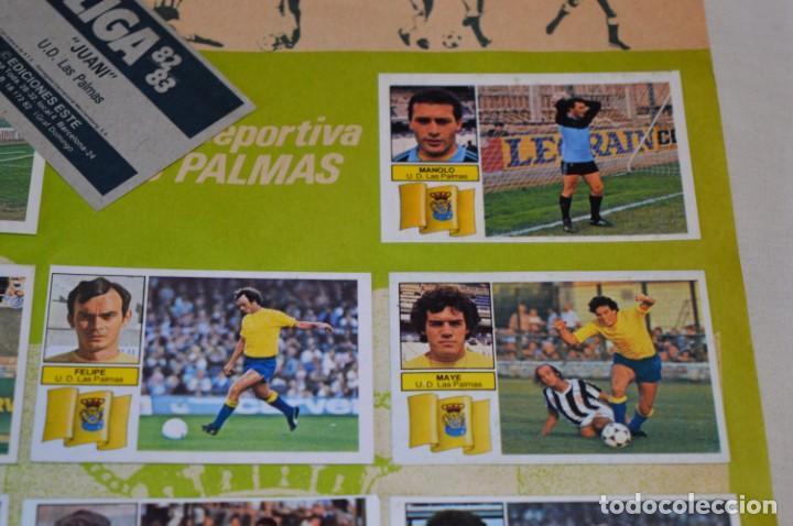 Cromos de Fútbol: Hoja con 31 cromos del LAS PALMAS y ATLÉTIC MADRID / - LIGA 1982 / 1983 -- 82 / 83 Edic. ESTE ¡Mira! - Foto 6 - 190117882