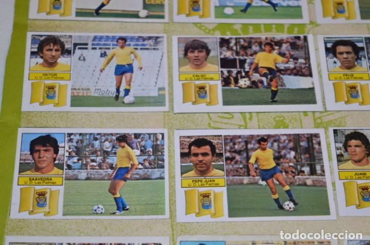 Cromos de Fútbol: Hoja con 31 cromos del LAS PALMAS y ATLÉTIC MADRID / - LIGA 1982 / 1983 -- 82 / 83 Edic. ESTE ¡Mira! - Foto 7 - 190117882