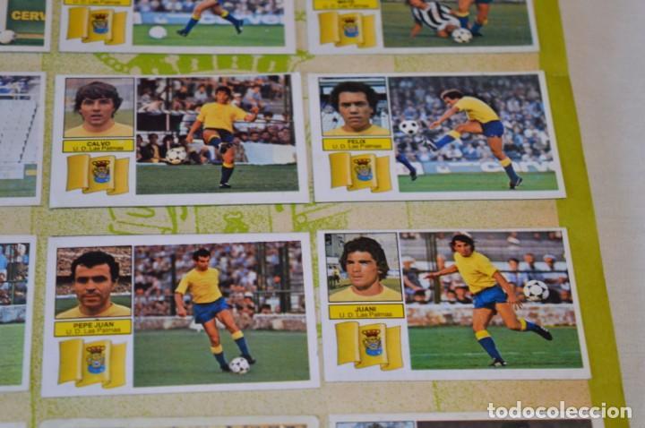 Cromos de Fútbol: Hoja con 31 cromos del LAS PALMAS y ATLÉTIC MADRID / - LIGA 1982 / 1983 -- 82 / 83 Edic. ESTE ¡Mira! - Foto 8 - 190117882