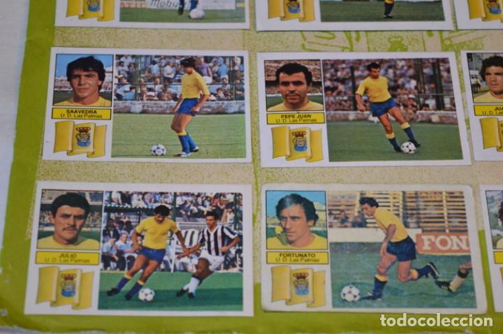 Cromos de Fútbol: Hoja con 31 cromos del LAS PALMAS y ATLÉTIC MADRID / - LIGA 1982 / 1983 -- 82 / 83 Edic. ESTE ¡Mira! - Foto 9 - 190117882
