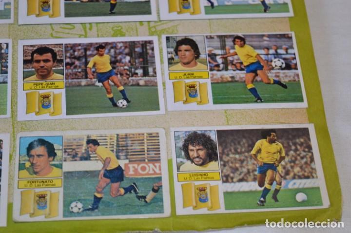 Cromos de Fútbol: Hoja con 31 cromos del LAS PALMAS y ATLÉTIC MADRID / - LIGA 1982 / 1983 -- 82 / 83 Edic. ESTE ¡Mira! - Foto 10 - 190117882
