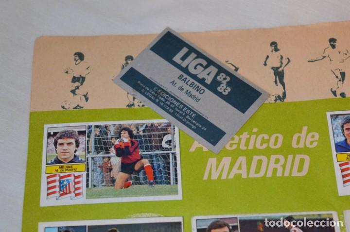 Cromos de Fútbol: Hoja con 31 cromos del LAS PALMAS y ATLÉTIC MADRID / - LIGA 1982 / 1983 -- 82 / 83 Edic. ESTE ¡Mira! - Foto 12 - 190117882