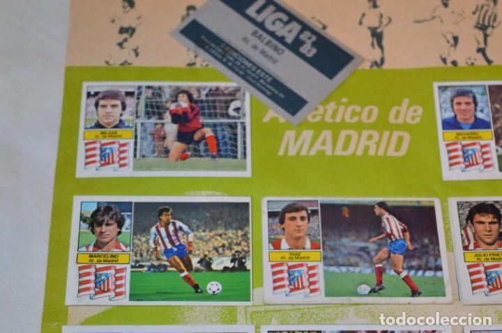 Cromos de Fútbol: Hoja con 31 cromos del LAS PALMAS y ATLÉTIC MADRID / - LIGA 1982 / 1983 -- 82 / 83 Edic. ESTE ¡Mira! - Foto 13 - 190117882