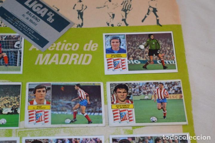 Cromos de Fútbol: Hoja con 31 cromos del LAS PALMAS y ATLÉTIC MADRID / - LIGA 1982 / 1983 -- 82 / 83 Edic. ESTE ¡Mira! - Foto 14 - 190117882