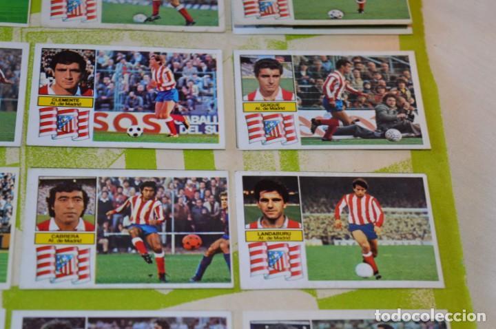 Cromos de Fútbol: Hoja con 31 cromos del LAS PALMAS y ATLÉTIC MADRID / - LIGA 1982 / 1983 -- 82 / 83 Edic. ESTE ¡Mira! - Foto 20 - 190117882
