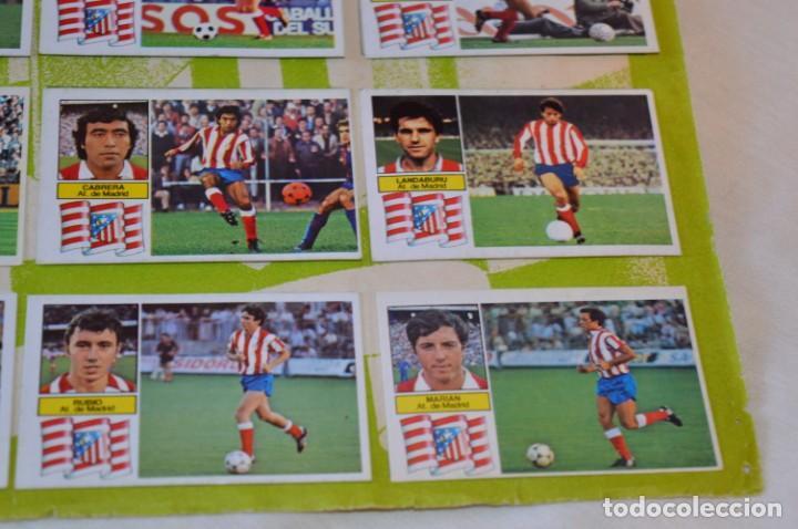 Cromos de Fútbol: Hoja con 31 cromos del LAS PALMAS y ATLÉTIC MADRID / - LIGA 1982 / 1983 -- 82 / 83 Edic. ESTE ¡Mira! - Foto 22 - 190117882