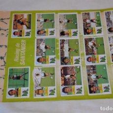 Cromos de Fútbol: HOJA CON 30 CROMOS DEL LAS PALMAS Y ATLÉTIC MADRID / - LIGA 1982 / 1983 -- 82 / 83 EDIC. ESTE ¡MIRA!. Lote 190118432