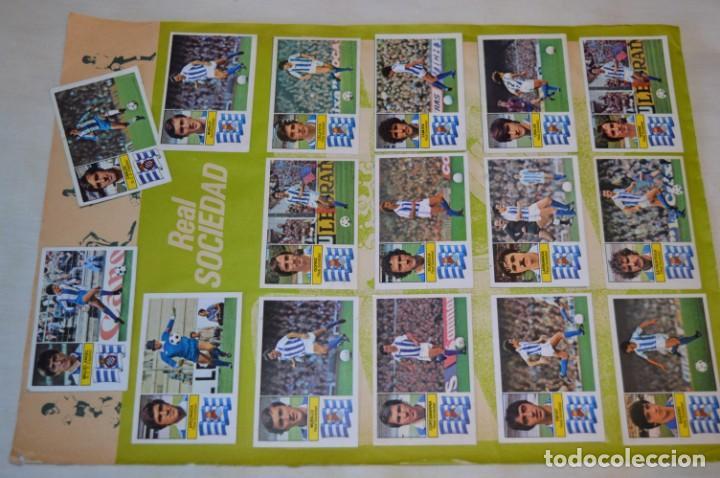 HOJA CON 31 CROMOS DEL VALENCIA Y REAL SOCIEDAD / - LIGA 1982 / 1983 -- 82 / 83 EDIC. ESTE ¡MIRA! (Coleccionismo Deportivo - Álbumes y Cromos de Deportes - Cromos de Fútbol)