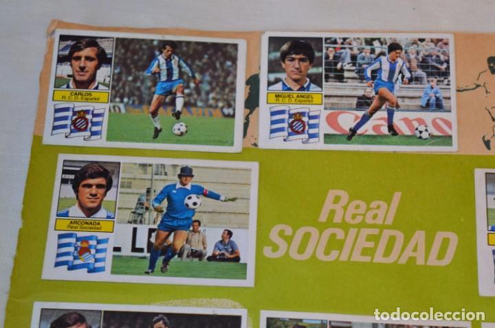 Cromos de Fútbol: Hoja con 31 cromos del VALENCIA y REAL SOCIEDAD / - LIGA 1982 / 1983 -- 82 / 83 Edic. ESTE ¡Mira! - Foto 3 - 190120418
