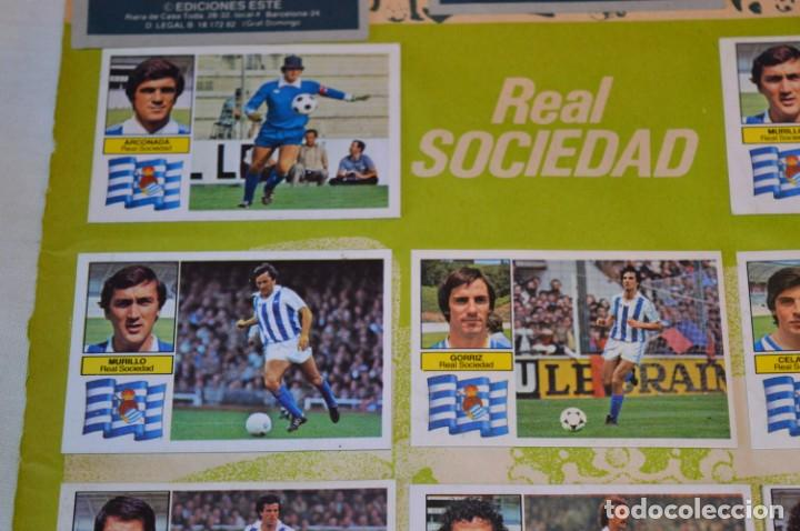 Cromos de Fútbol: Hoja con 31 cromos del VALENCIA y REAL SOCIEDAD / - LIGA 1982 / 1983 -- 82 / 83 Edic. ESTE ¡Mira! - Foto 5 - 190120418