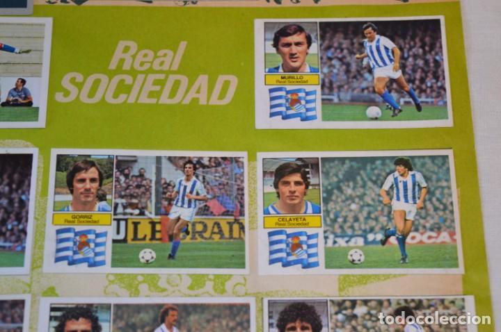 Cromos de Fútbol: Hoja con 31 cromos del VALENCIA y REAL SOCIEDAD / - LIGA 1982 / 1983 -- 82 / 83 Edic. ESTE ¡Mira! - Foto 6 - 190120418