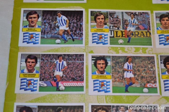 Cromos de Fútbol: Hoja con 31 cromos del VALENCIA y REAL SOCIEDAD / - LIGA 1982 / 1983 -- 82 / 83 Edic. ESTE ¡Mira! - Foto 7 - 190120418
