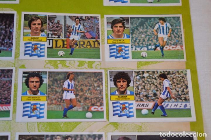 Cromos de Fútbol: Hoja con 31 cromos del VALENCIA y REAL SOCIEDAD / - LIGA 1982 / 1983 -- 82 / 83 Edic. ESTE ¡Mira! - Foto 8 - 190120418