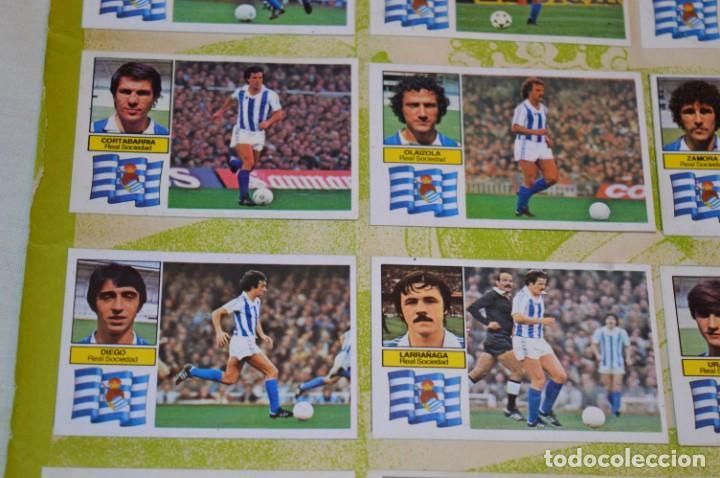 Cromos de Fútbol: Hoja con 31 cromos del VALENCIA y REAL SOCIEDAD / - LIGA 1982 / 1983 -- 82 / 83 Edic. ESTE ¡Mira! - Foto 9 - 190120418