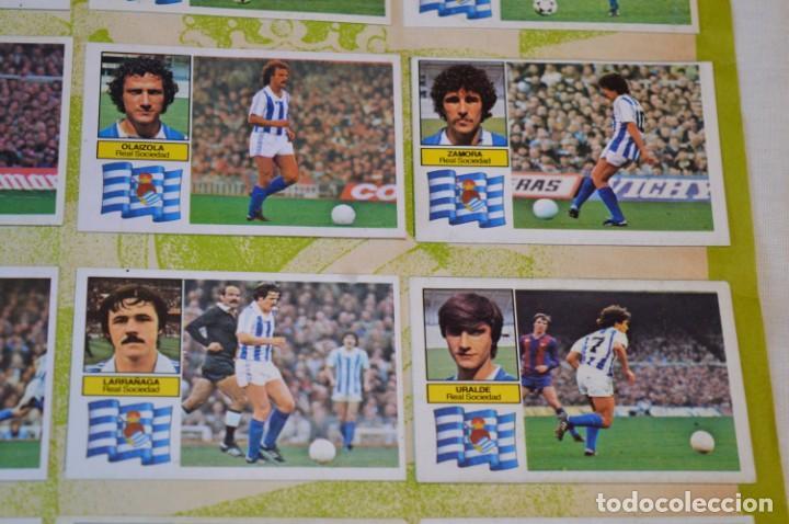 Cromos de Fútbol: Hoja con 31 cromos del VALENCIA y REAL SOCIEDAD / - LIGA 1982 / 1983 -- 82 / 83 Edic. ESTE ¡Mira! - Foto 10 - 190120418