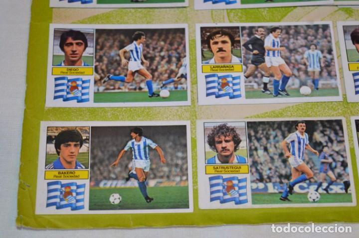 Cromos de Fútbol: Hoja con 31 cromos del VALENCIA y REAL SOCIEDAD / - LIGA 1982 / 1983 -- 82 / 83 Edic. ESTE ¡Mira! - Foto 11 - 190120418