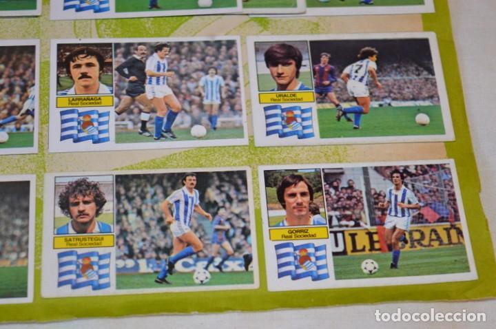 Cromos de Fútbol: Hoja con 31 cromos del VALENCIA y REAL SOCIEDAD / - LIGA 1982 / 1983 -- 82 / 83 Edic. ESTE ¡Mira! - Foto 12 - 190120418