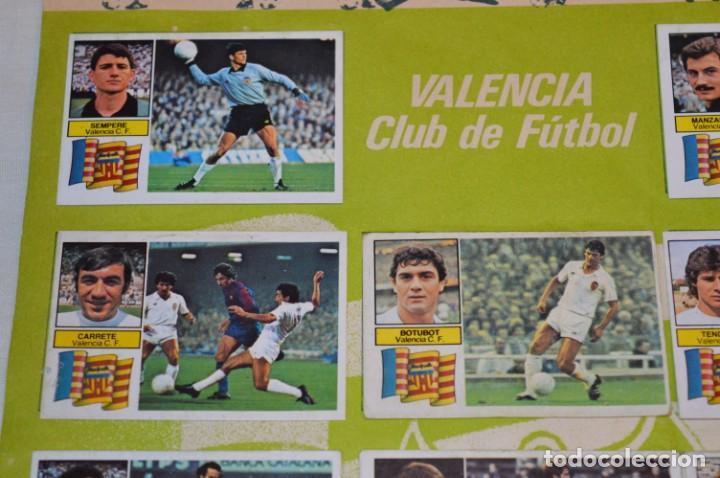 Cromos de Fútbol: Hoja con 31 cromos del VALENCIA y REAL SOCIEDAD / - LIGA 1982 / 1983 -- 82 / 83 Edic. ESTE ¡Mira! - Foto 13 - 190120418