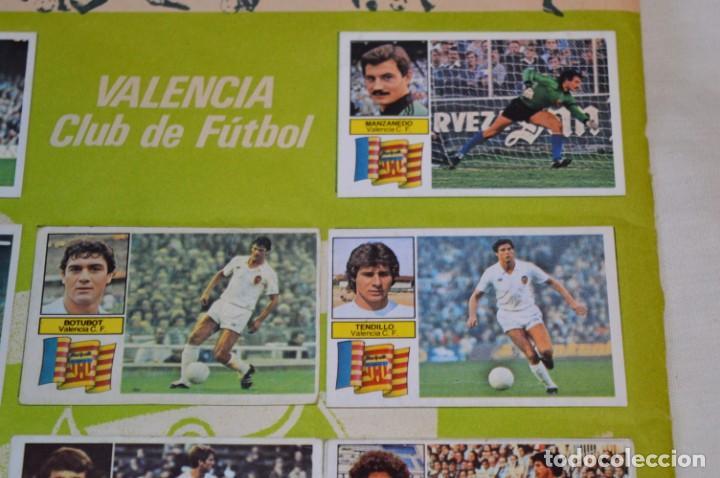 Cromos de Fútbol: Hoja con 31 cromos del VALENCIA y REAL SOCIEDAD / - LIGA 1982 / 1983 -- 82 / 83 Edic. ESTE ¡Mira! - Foto 14 - 190120418