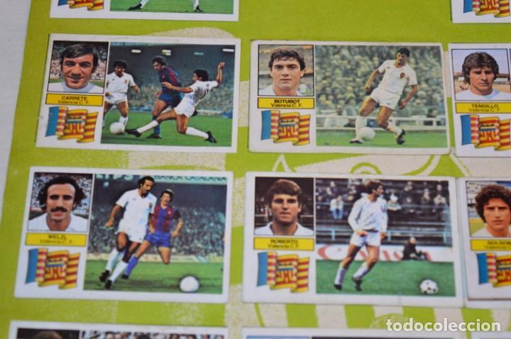 Cromos de Fútbol: Hoja con 31 cromos del VALENCIA y REAL SOCIEDAD / - LIGA 1982 / 1983 -- 82 / 83 Edic. ESTE ¡Mira! - Foto 15 - 190120418