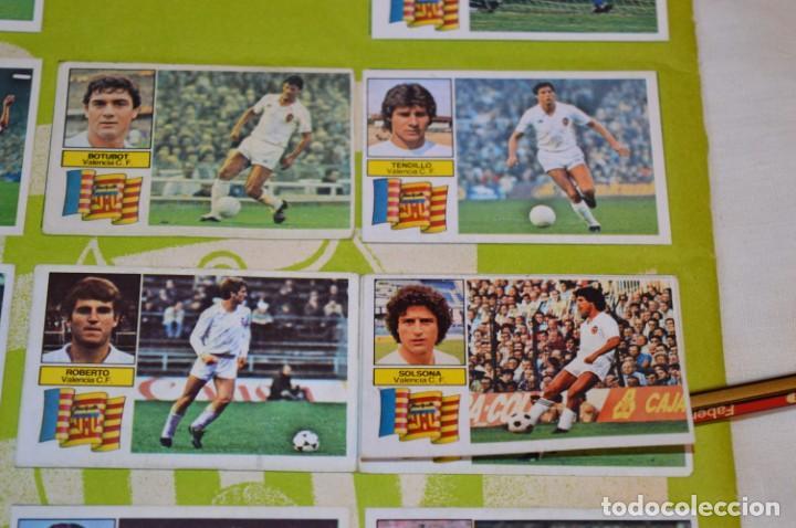 Cromos de Fútbol: Hoja con 31 cromos del VALENCIA y REAL SOCIEDAD / - LIGA 1982 / 1983 -- 82 / 83 Edic. ESTE ¡Mira! - Foto 16 - 190120418
