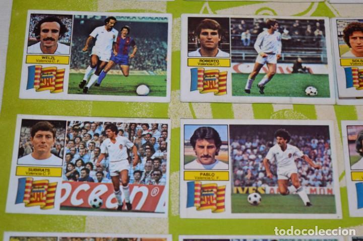 Cromos de Fútbol: Hoja con 31 cromos del VALENCIA y REAL SOCIEDAD / - LIGA 1982 / 1983 -- 82 / 83 Edic. ESTE ¡Mira! - Foto 17 - 190120418