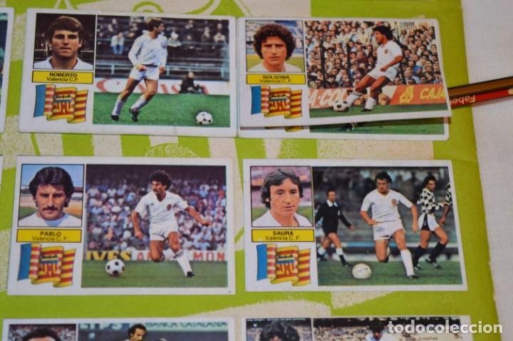 Cromos de Fútbol: Hoja con 31 cromos del VALENCIA y REAL SOCIEDAD / - LIGA 1982 / 1983 -- 82 / 83 Edic. ESTE ¡Mira! - Foto 18 - 190120418