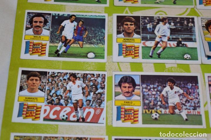 Cromos de Fútbol: Hoja con 31 cromos del VALENCIA y REAL SOCIEDAD / - LIGA 1982 / 1983 -- 82 / 83 Edic. ESTE ¡Mira! - Foto 20 - 190120418
