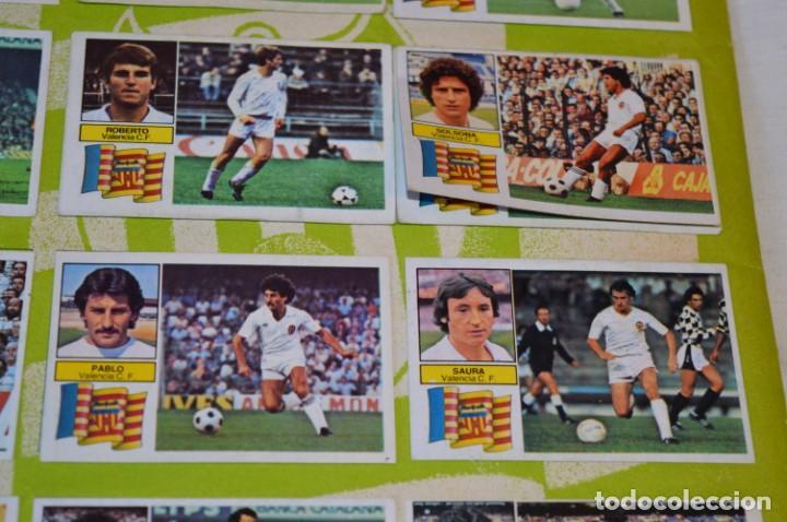 Cromos de Fútbol: Hoja con 31 cromos del VALENCIA y REAL SOCIEDAD / - LIGA 1982 / 1983 -- 82 / 83 Edic. ESTE ¡Mira! - Foto 21 - 190120418