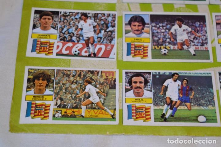 Cromos de Fútbol: Hoja con 31 cromos del VALENCIA y REAL SOCIEDAD / - LIGA 1982 / 1983 -- 82 / 83 Edic. ESTE ¡Mira! - Foto 22 - 190120418